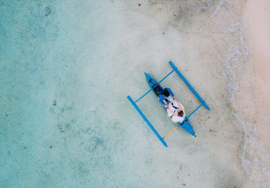 セブ島フォトウェディングをドローン空撮でバリエーション豊かに