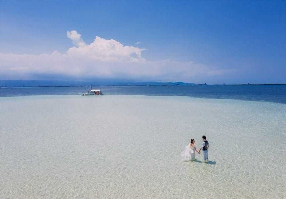 セブ島ロケーション・フォトは美しいビーチの離島で