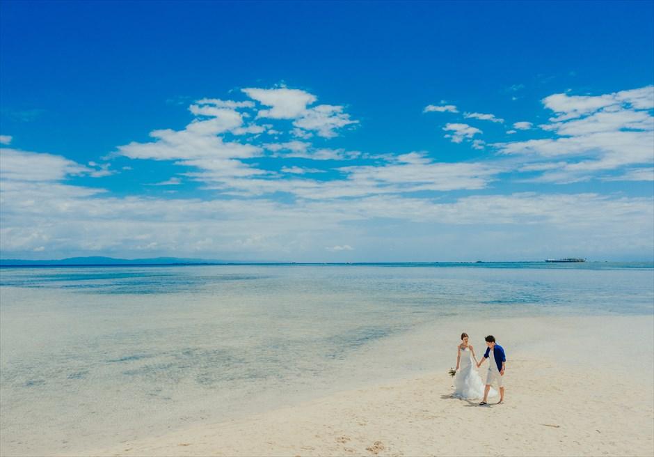 セブ島挙式前撮りは離島ドローン撮影がおすすめ